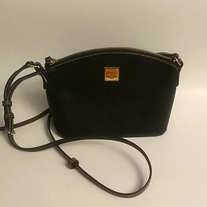 Dooney and Bourke Small Pebble Leather Satchel